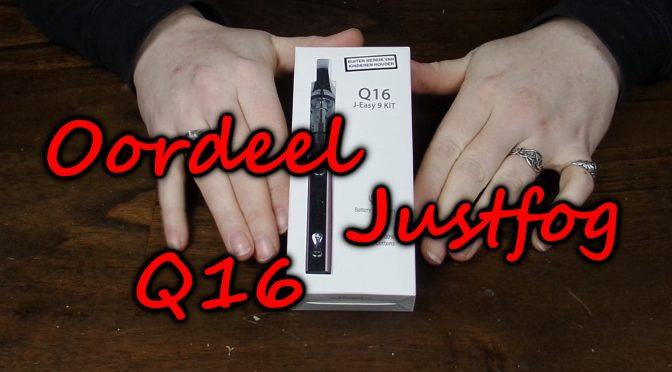 Oordeel Justfog Q16